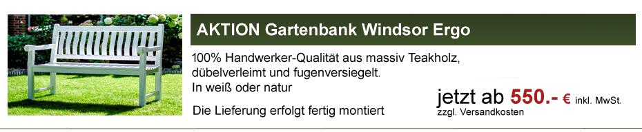 Gartenbank Windsor Verkaufsaktion